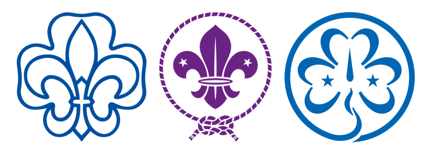 VCP WOSM WAGGGS Logos